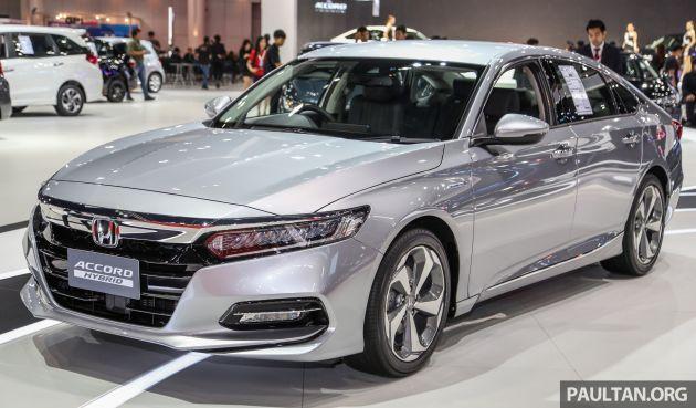 Honda Accord Turbo >> Bangkok 2019 New Honda Accord 1 5l Turbo Hybrid Honda