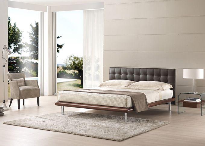 15 pin su letto in pelle da non perdere pelle pareti - Letto matrimoniale con rete e materasso ...