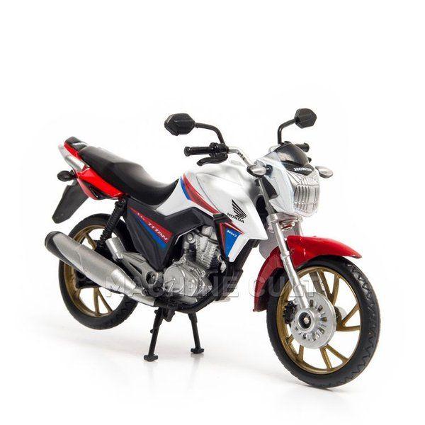 Miniatura Honda CG Titan 160cc - 40 anos CG Brasil - Machine Cult | Loja online especializada em camisetas, miniaturas, quadros, placas e decoração temática de carros, motos e bikes