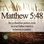 Matthew 5:48 – Perfect Heavenly Father
