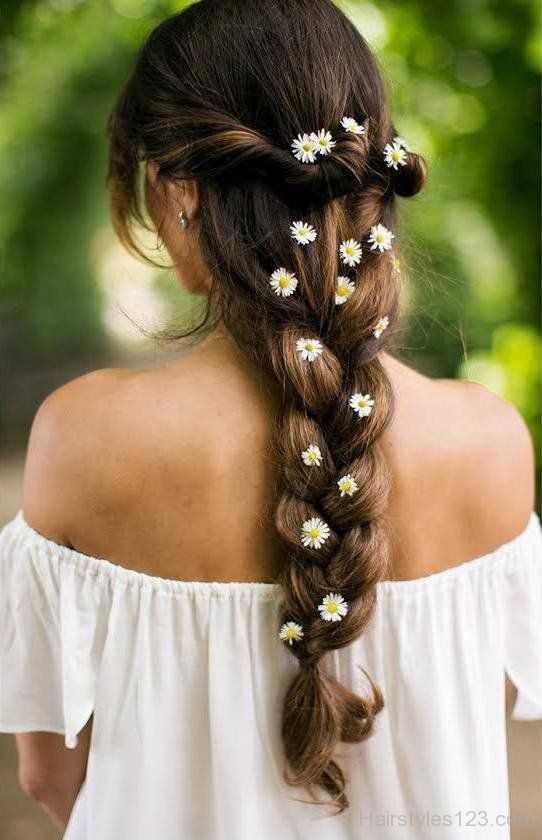 Loose Braid Hairstyle