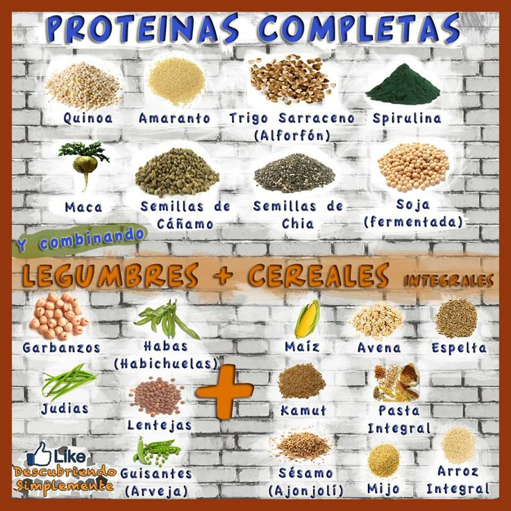 10 fuentes principales de proteinas vegetales http://www.mbfestudio.com/2014/04/10-fuentes-principales-de-proteinas.html
