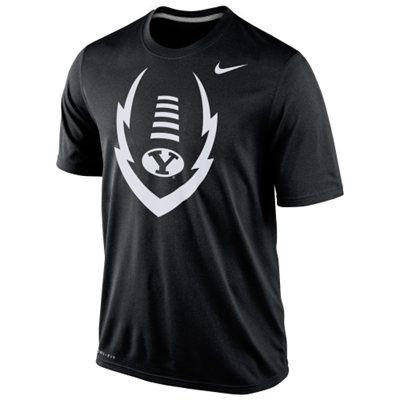 BYU Cougars 2014 Football Icon Legend Dri-Fit Performance T-Shirt – Black
