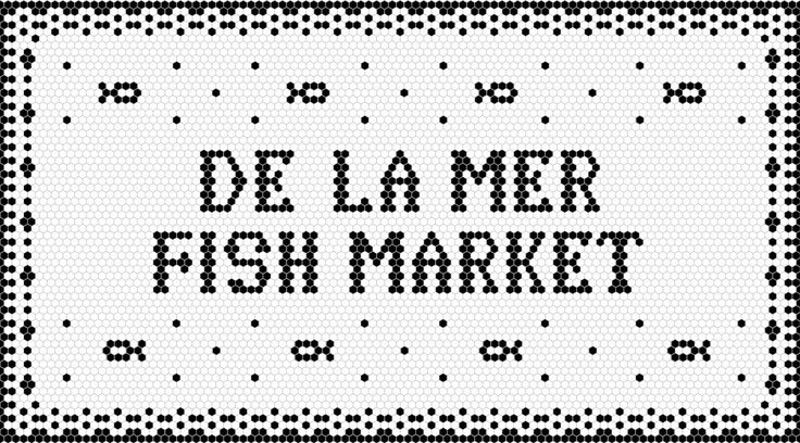 De La Mer is a neighbourhood fish market in Toronto, with a large selection of organic, naturally raised, sustainably caught and farmed, fresh fish and seafood. For this boutique seafood shop, we set out to create a classic yet modern brand that would s…