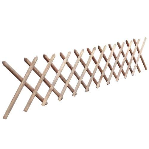 (45.15$)  Buy here - http://ai6vs.worlditems.win/all/product.php?id=41917DE - Valla enrejada expandible de madera impregnada 250 x 60 cm
