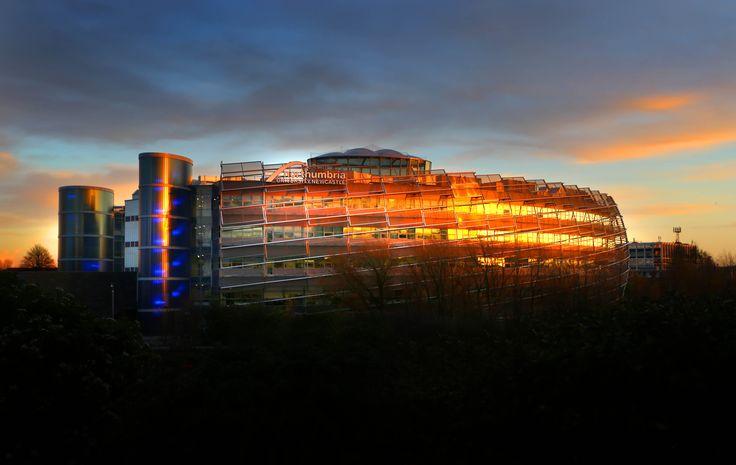 Newcastle Business School | City Campus East | Northumbria University | Dusk