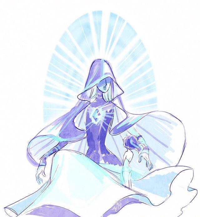 Diamante e Perola Azul