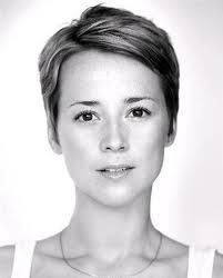 Karine Vanasse. I want her haircut but my husband thinks it's too short... but one of these days...