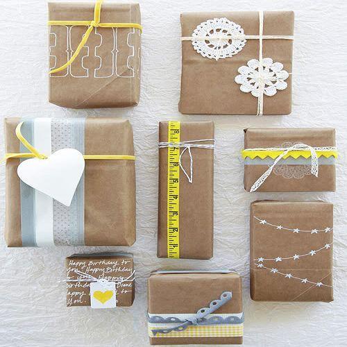 Envoltorios originales para regalos navidad buscar con - Envolver regalos de navidad ...