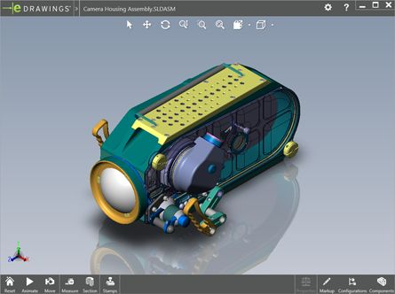 Para Autocad que no puedan editarlo. Free eDrawings Viewer for SolidWorks, DWG, and DXF Files | eDrawings.