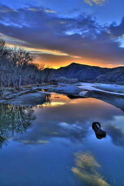 Yellowstone River, Billings, Montana; photo by John Bjorndal