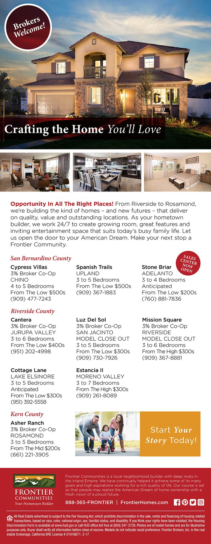 Inland empire model homes