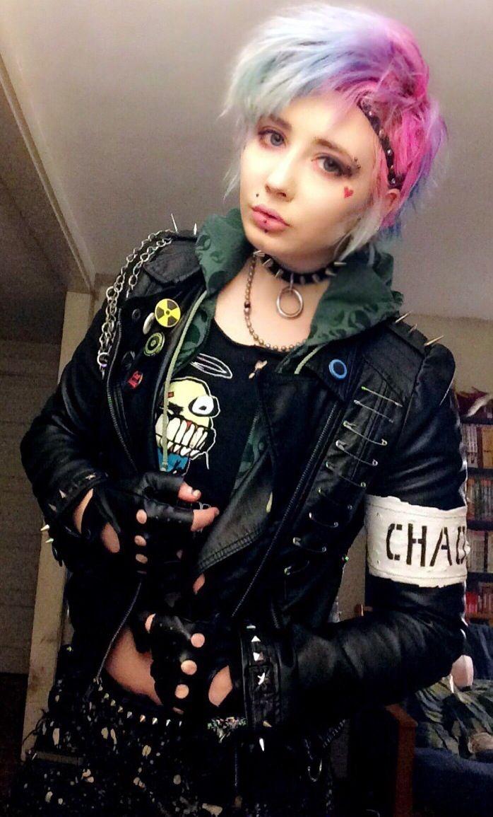 Punk rock petite teen #4