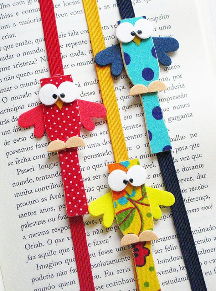 ideias marcador pagina coruja palito picole lembrancinha escola  (4)
