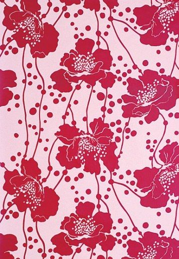 Many of her designs combined oriental motifs with Europe's 1930s-style modernism and were all hand printed. Her studio developed a washable, vinyl-coating finish and a drying rack system that enabled the wallpapers to be produced in large quantities. They were exported to Asia, the US, Europe and Saudi Arabia and by 1972, Broadhurst was internationally recognised.  Design Notebook: Florence Broadhurst | Architectural Digest