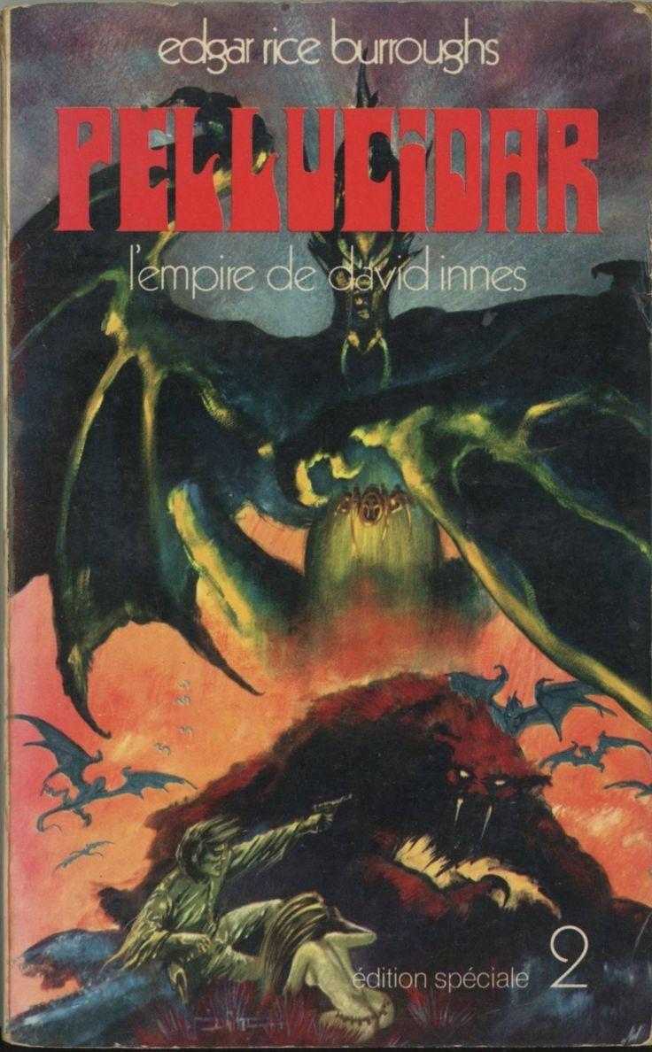 Druillet - Pellucidar L'empire de David Innes, Edgar Rice Burroughs, Edition Spéciale.1971