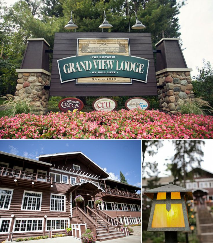 Brainerd Lakes Wedding Venue – Grand View Lodge.  Historic Grand View Lodge, located on the shores of Gull Lake in Nisswa, Minnesota.   The perfect wedding for your dream up-north wedding!