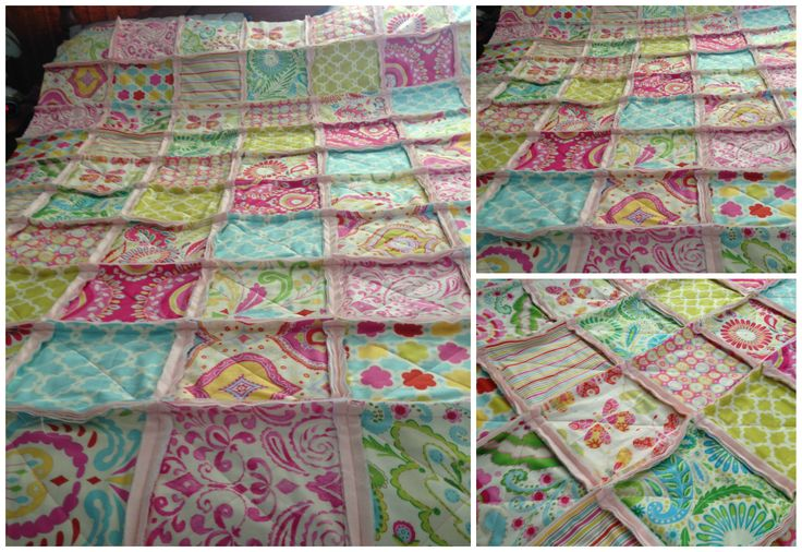 Renee's Large Single Bed made from Kumari Garden fabric