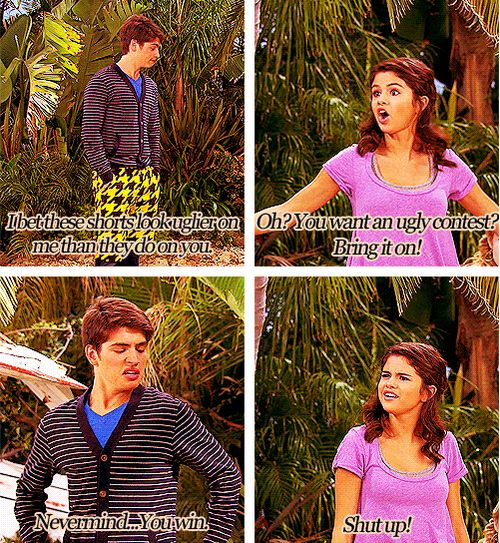 I love Wizards of Waverly Place and I miss it sooo much! alex's face in the second one. ;)