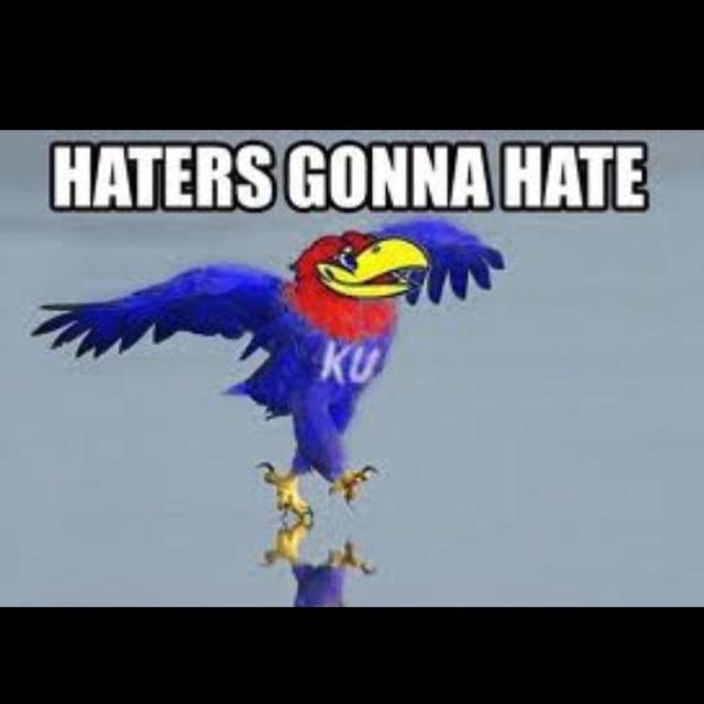 Haters gonna hate jayhawks ku finalfour photography for Funny kansas jayhawks t shirts