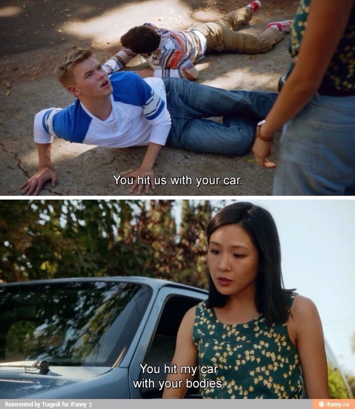 fresh off the boat quotes. My friend Kate Riddle acted on this show.
