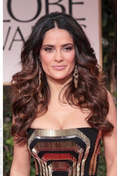 Salma-Hayek-Long-Sexy-Curly-Hairstyle
