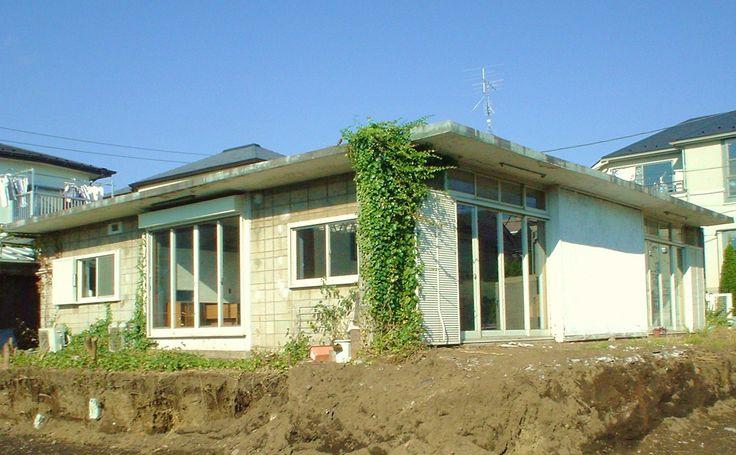 Miyagi house 1953 宮城教授の家 清家清