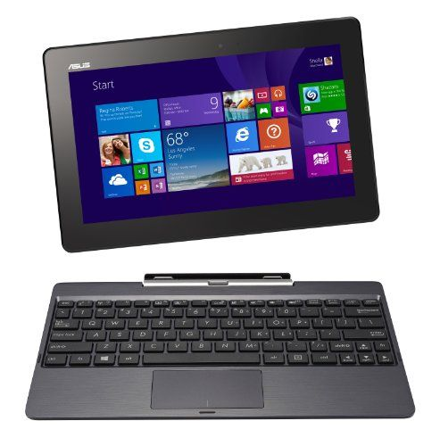 """ASUS Transformer Book T100TA-H2-GR 10.1"""" Detachable 2-in-1 Touchscreen Laptop, 64GB+500GB (Grey) Asus http://www.amazon.com/dp/B00IAAALFG/ref=cm_sw_r_pi_dp_giK5tb0D61R27"""