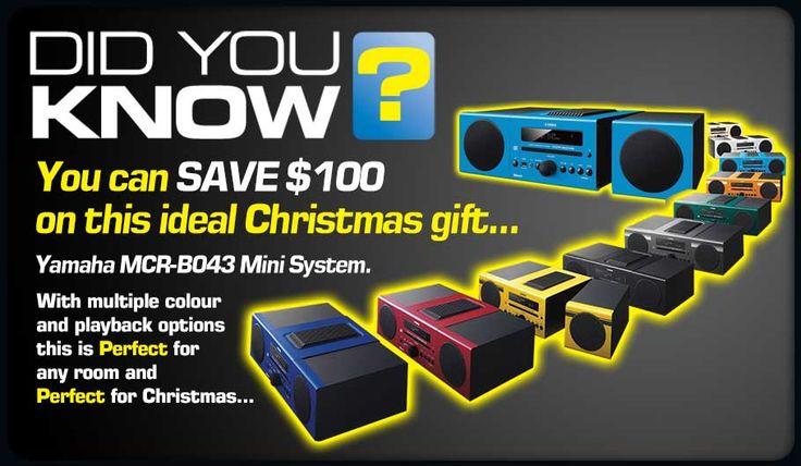 Yamaha MCR-B043 Mini System TLPCHC Christmas gift ideas