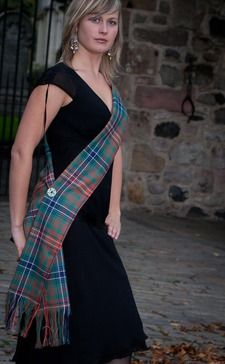 Classic Tartan Sash by Scotweb Originals