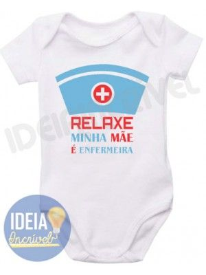Body Infantil - Mãe Enfermeira