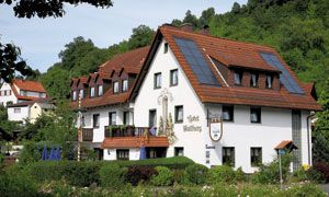 Hotel & Landgasthof Wallburg,   Eltmann, Germany  Our most favorite restaurant in the world!  Just five minutes from our house in Tretzendorf.