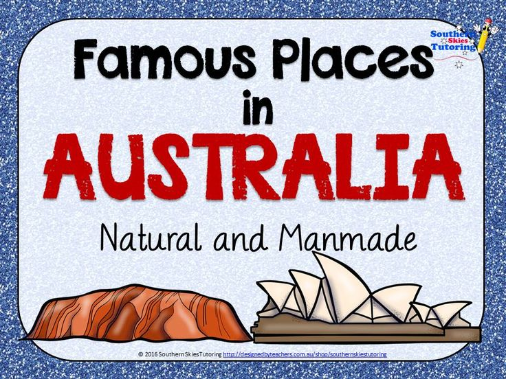Major Places in Australia - DBT