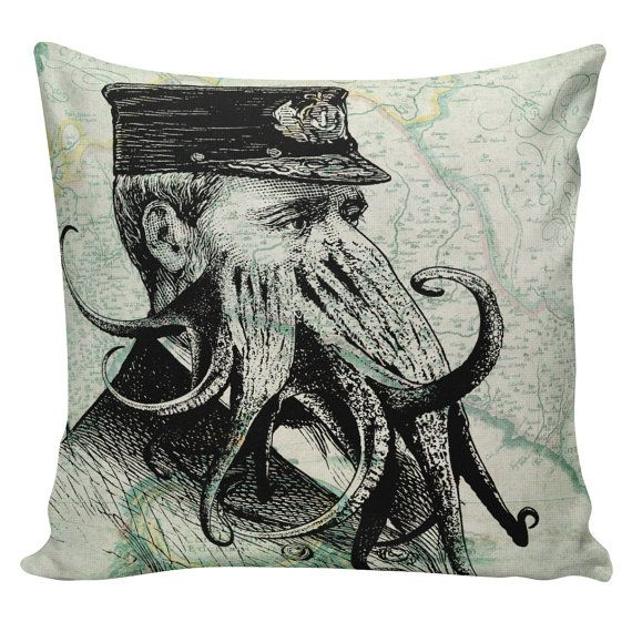 Nautical Decorative Pillow Covers : 1000+ images about Nautical Pillows on Pinterest Cushions, Vintage style and Mermaids