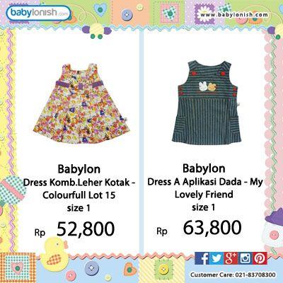 Yuk dapatkan baju Babylon lucu untuk putri Anda. Gratis ongkir seluruh Indonesia. Bersertifikat SNI. #tokusen #babylon #indonesia #baby #bajubayi #kids #fashion