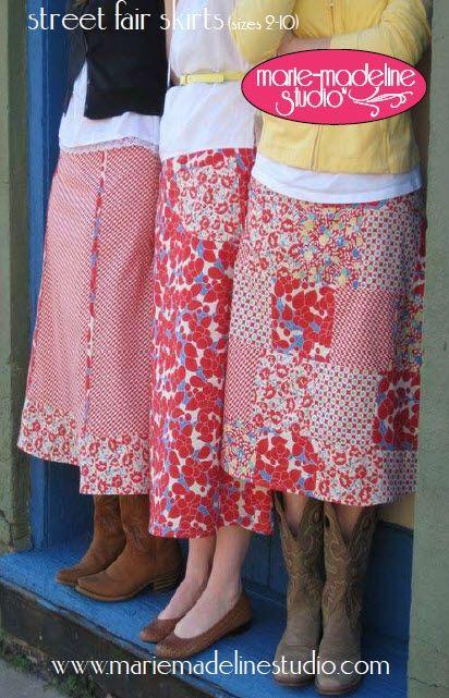 Cute Skirt Patterns 10