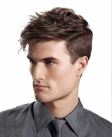 Men Fashion Hair Style trendy haircuts for teenage