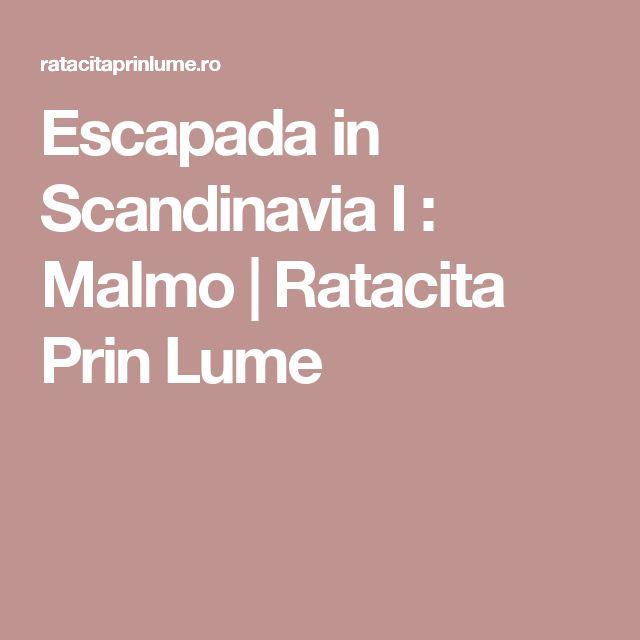 Escapada in Scandinavia I :  Malmo | Ratacita Prin Lume