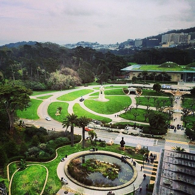 Picnic breakfast in Golden Gate Park!