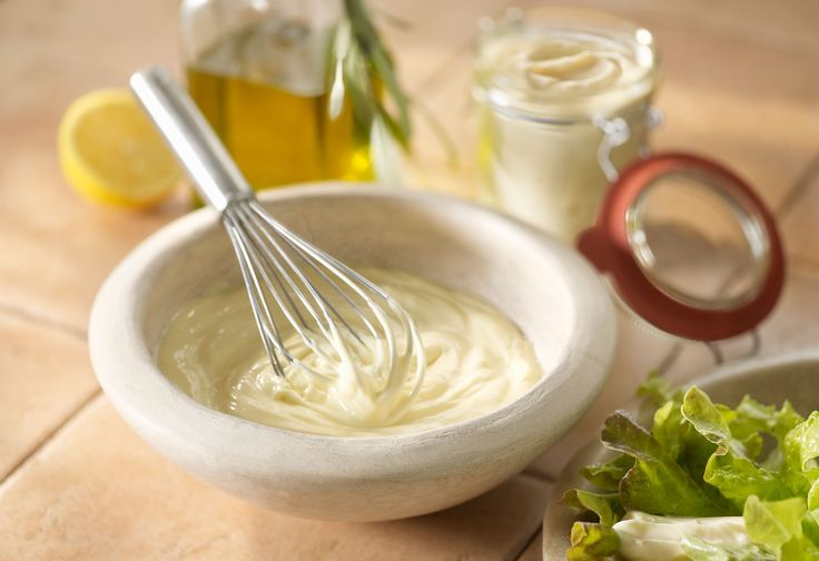 Here's an easy mayonnaise recipe you can whip up in minutes. It makes a great sandwich spread, and can also form the base for several salad dressings.