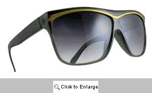 Alexis Gold Trim Sunglasses - 536 Black