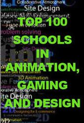 Animation Career Review's list of top 100 schools for animation, gaming, and design. This list was compiled from a mixture of school reviews, industry-reviewed lists like the Princeton Review, and a survey of the animation industry professionals and recruiters from companies like Pixar, J.J. Sedelmaier and DreamWorks who were featured in their interview series.