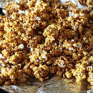 Honeyed Pumpkin Spice Caramel Corn