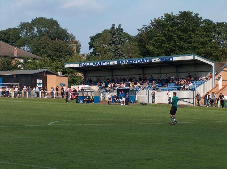 Sandygate, the oldest football ground in the world and is home to Hallam FC.