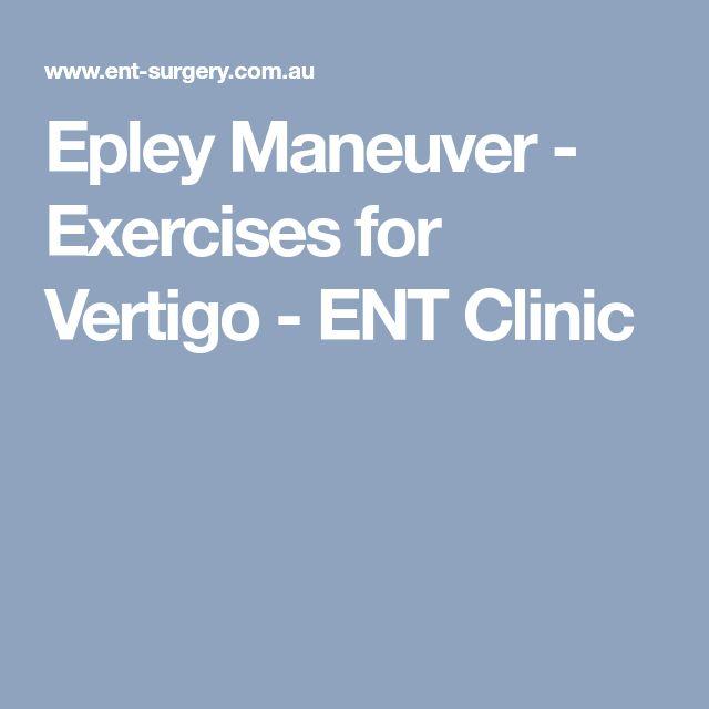 epley maneuver instructions youtube
