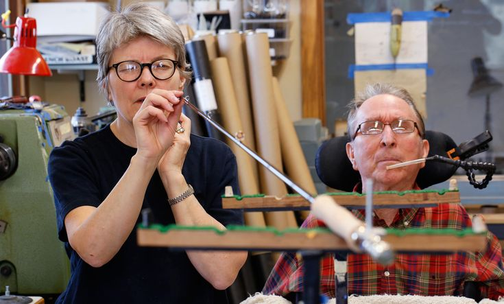 Fly rod makers Tom Morgan, Gerri Carlson create 'Unity with the Universe'