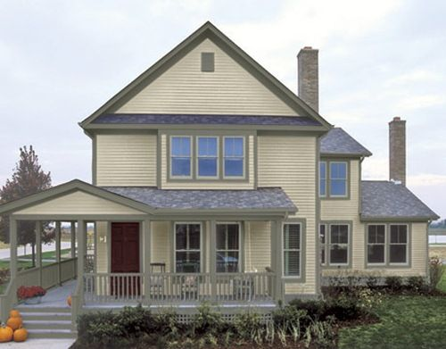 exterior house paint color combinations | ... Colors for Your House and Comfortable Stay Idea | Modern House Home