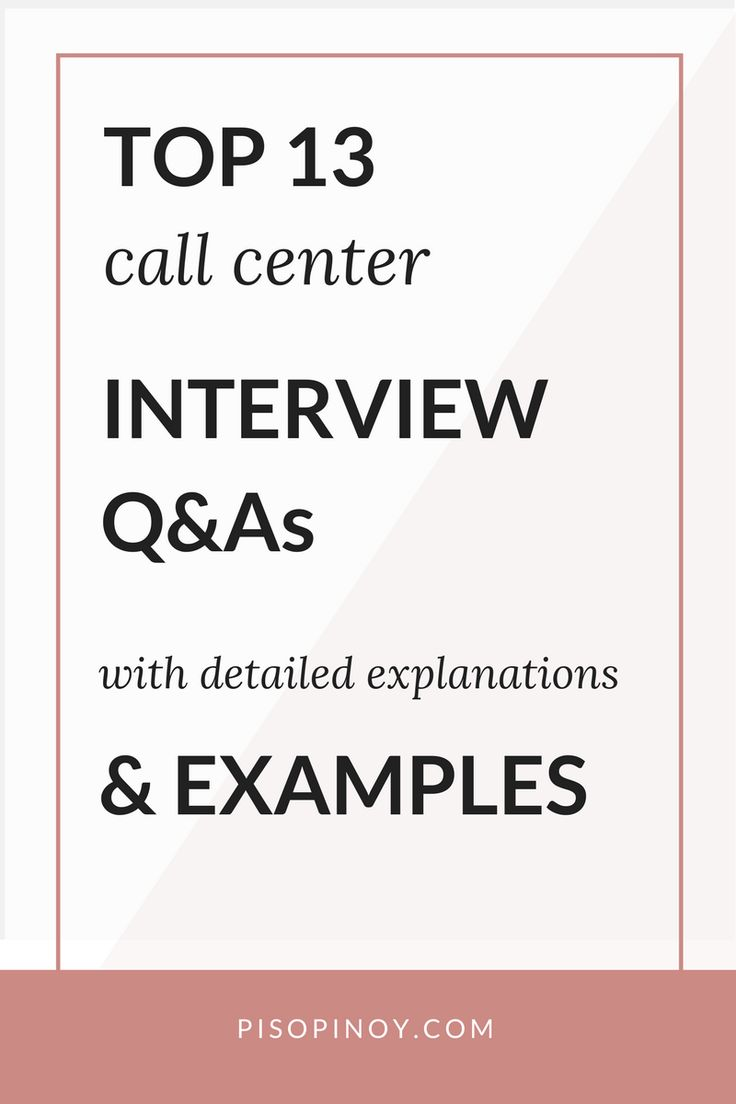 call center interview questions and answers you need to know to pass - Bpo Interview Questions And Answers
