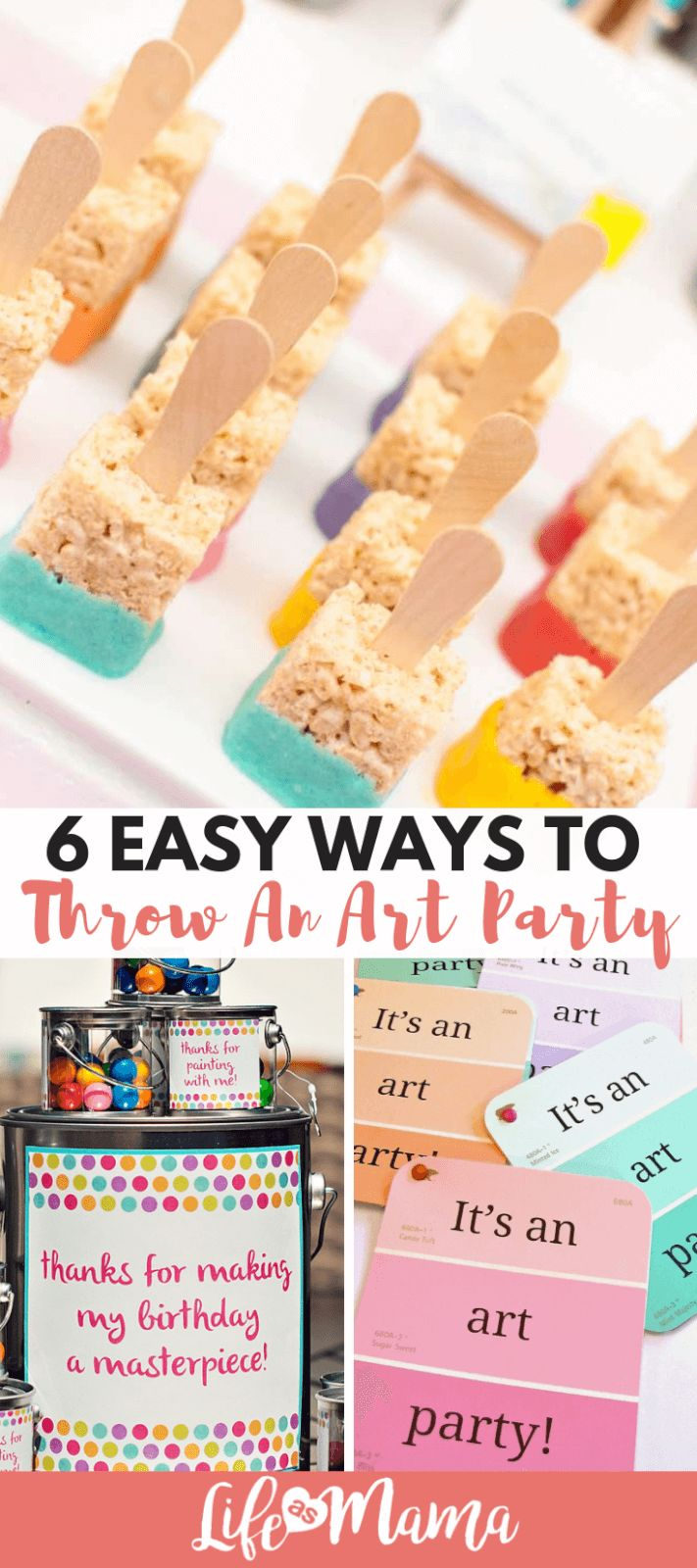 6 Easy Ways To Throw An Art Party