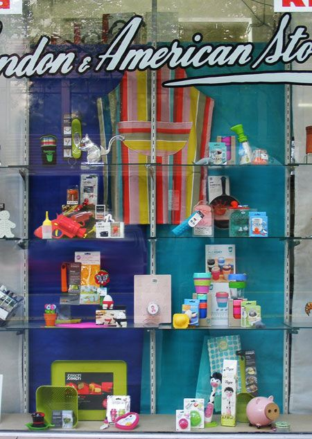 Spring Fresh and Novel Kitchenware window display by Patricia Denis, Melbourne